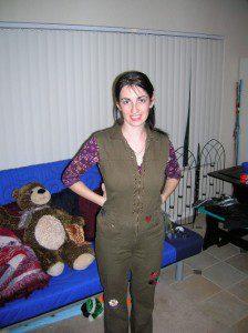 Me in my Kaylee costume (2008)