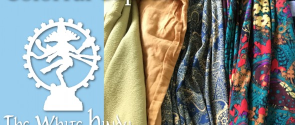colorful capsule wardrobe