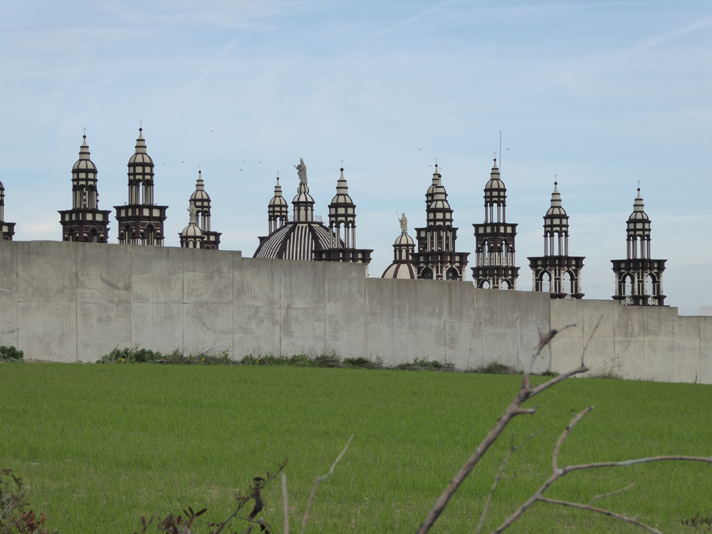 Cathedral and wall