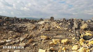Temple of Ain Dara after air strike