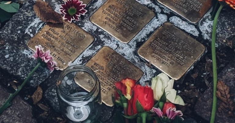 German remembrance stumbling stones