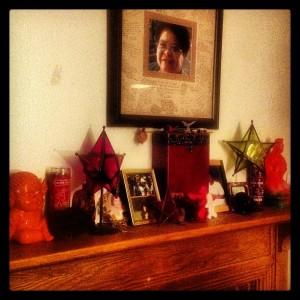 ancestor altar 2013