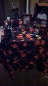 My Samhain Ancestor altar from 2013