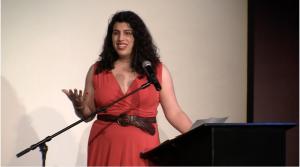 Elena Rose from Girl Talk speech