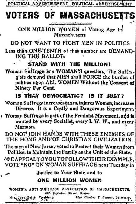 Women's Anti-Suffrage Association