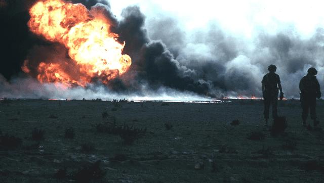 Atlas Shrugged: The Fires of Kuwait   Adam Lee