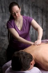 Ali giving massage