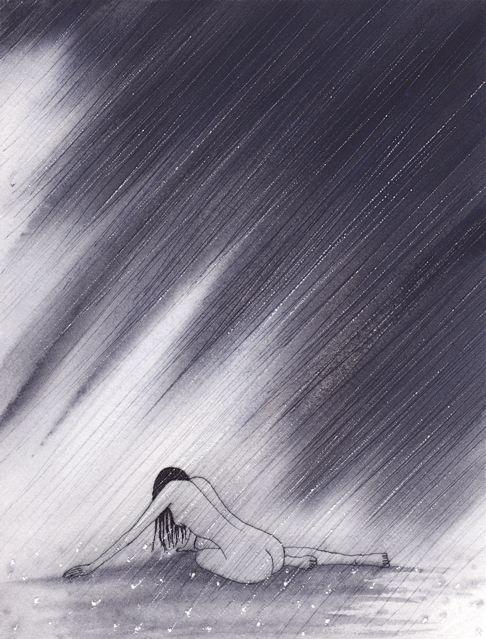 """sophia drawing """"cleansed"""" by nakedpastor david hayward"""