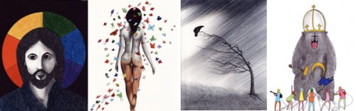 art collage by nakedpastor david hayward