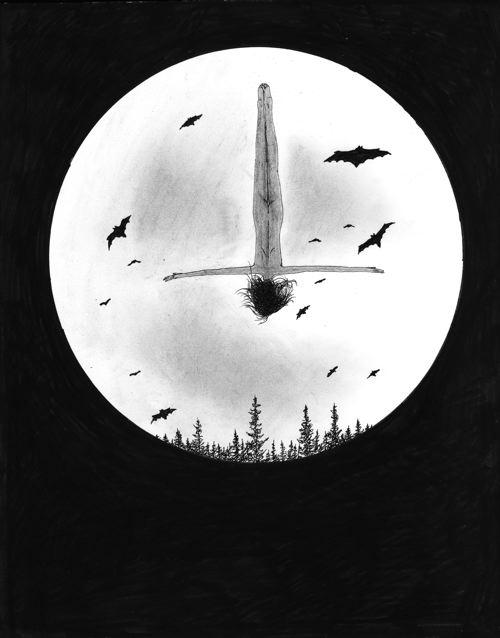 happy halloween from Sophia drawing dive by nakedpastor david hayward