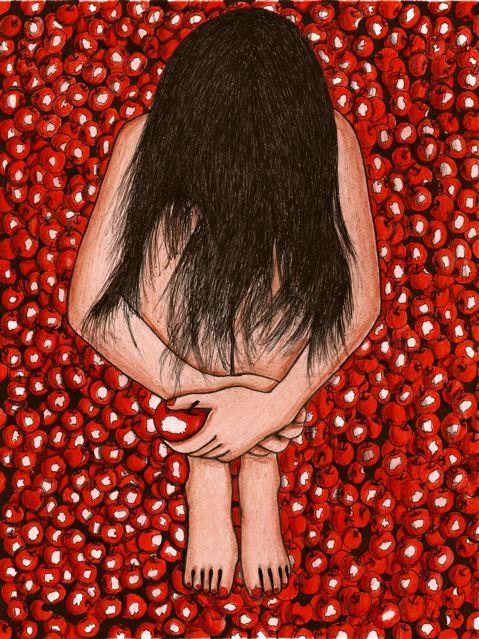 """sophia drawing """"is"""" by nakedpastor david hayward"""