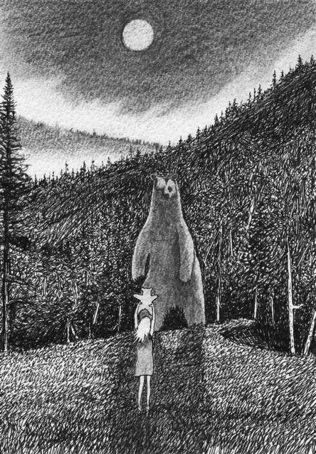 sophia fearless drawing by nakedpastor david hayward