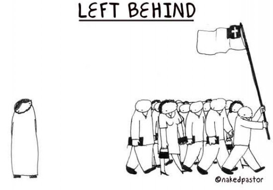 left behind cartoon by nakedpastor david hayward