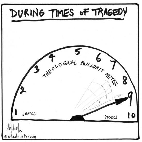 bullshit meter cartoon by nakedpastor david hayward