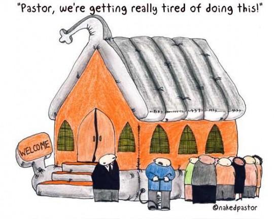 inflatable church cartoon by nakedpastor david hayward