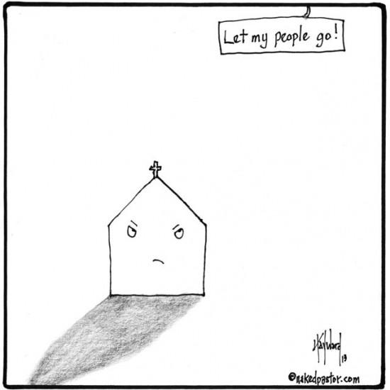 let my people go cartoon by nakedpastor david hayward