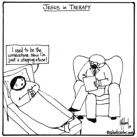 jesus in therapy cartoon by nakedpastor david hayward