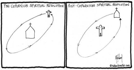 copernicus revolution cartoon by nakedpastor david hayward