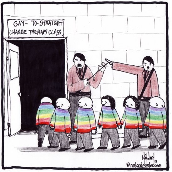 gay to straight cartoon by nakedpastor david hayward