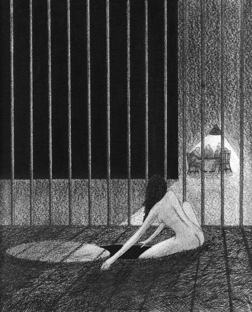sophia escape drawing by nakedpastor david hayward