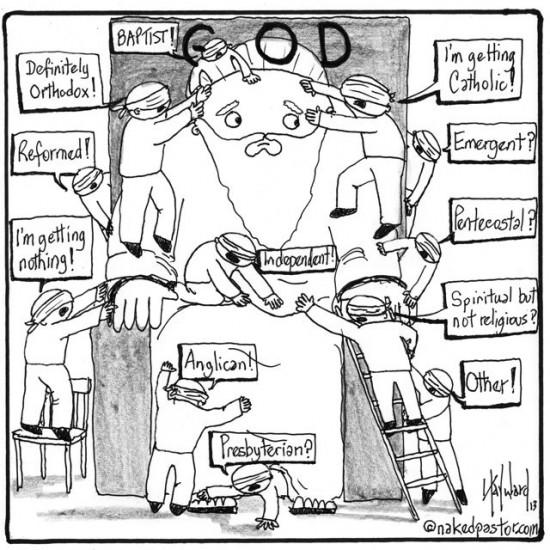 god guessers cartoon by nakedpastor david hayward