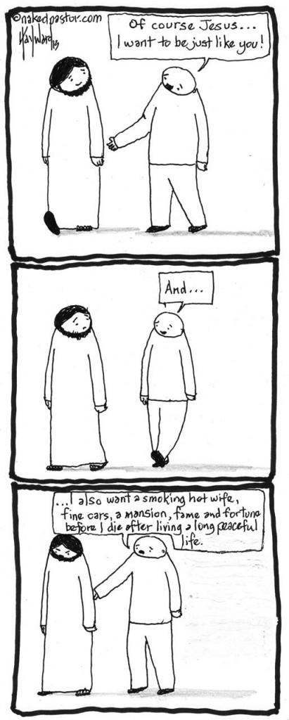 jesus and a smoking hot wife cartoon by nakedpastor david hayward