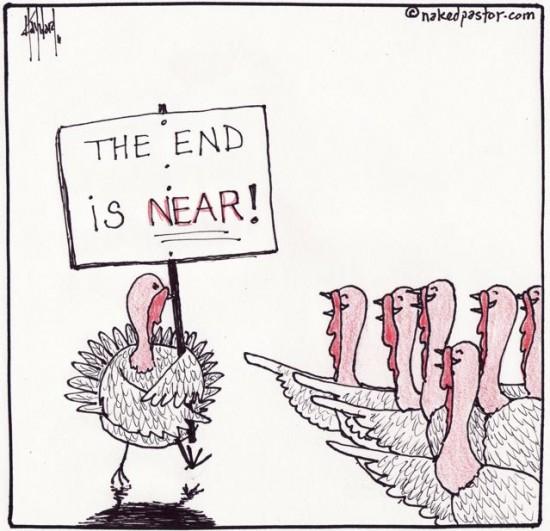 apocalyptic turkey cartoon by nakedpastor david hayward