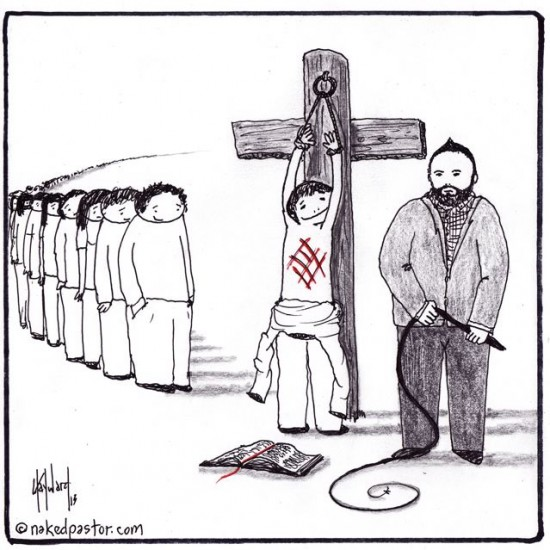 10 reasons why abusive churches succeed cartoon by nakedpastor david hayward