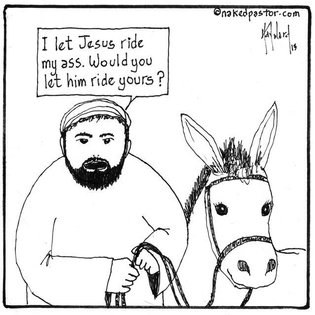 Ass ride