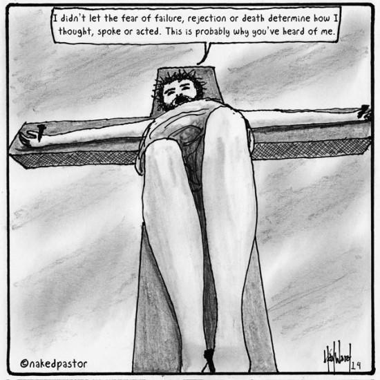 no fear jesus cartoon by nakedpastor david hayward