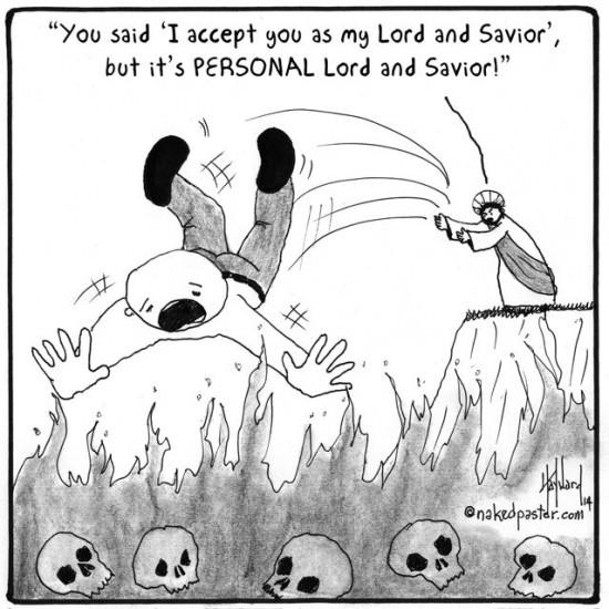 jesus takes it personal cartoon by nakedpastor david hayward