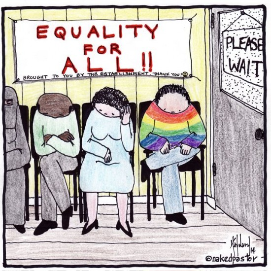 equality for all maybe later cartoon by nakedpastor david hayward