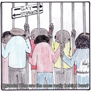 uganda gays behind bars cartoon by nakedpastor david hayward