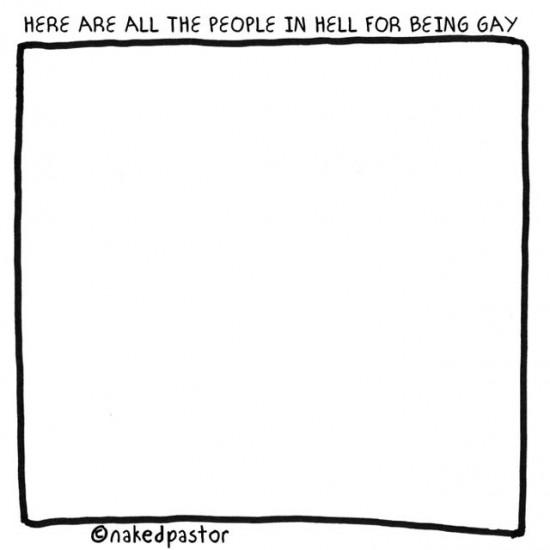 gays in hell cartoon by nakedpastor david hayward
