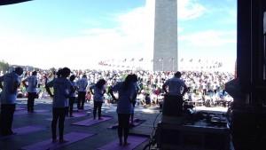International Day of Yoga - National Mall