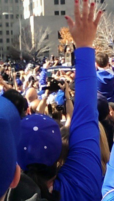 royal crowd