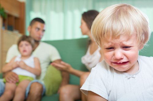 "Mommy, Daddy, Stop Fighting!"" Parental Conflict Hurts Kids' Ability"