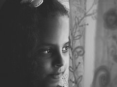 little girl  - flickr