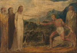 Christ Giving Sight To Bartimaeus, William Blake, 1799