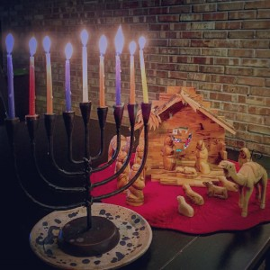 The miracle of Chanukah prepared the way for the #wonder of the greatest miracle of all: God with us.