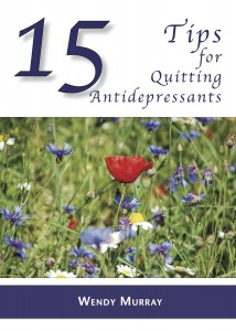 Wendy's book on ways to prepare and execute a successful tape of antidepressants