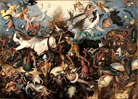 Pieter Bruegel the Elder - The Fall of the Rebel Angels (Public Domain)