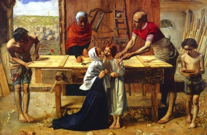 Christ in the House of His Parents Sir. John Everett Millais