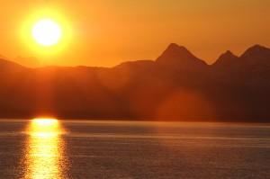 2015-04_Alaskan Sunset
