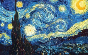 The Starry Night, 1889 - Vincent van Gogh, public domain