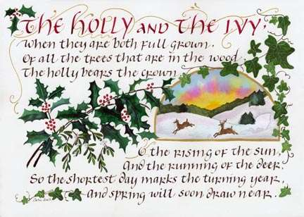 Holly&Ivy by Cari Ferraro, used with permission