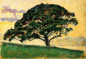 The Pine, Saint Tropez - Image via Wikimedia Commons, public domain {{PD-1923}}