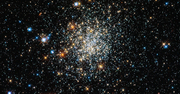 Star Cluster, photo by NASA, via WIkiMedia.
