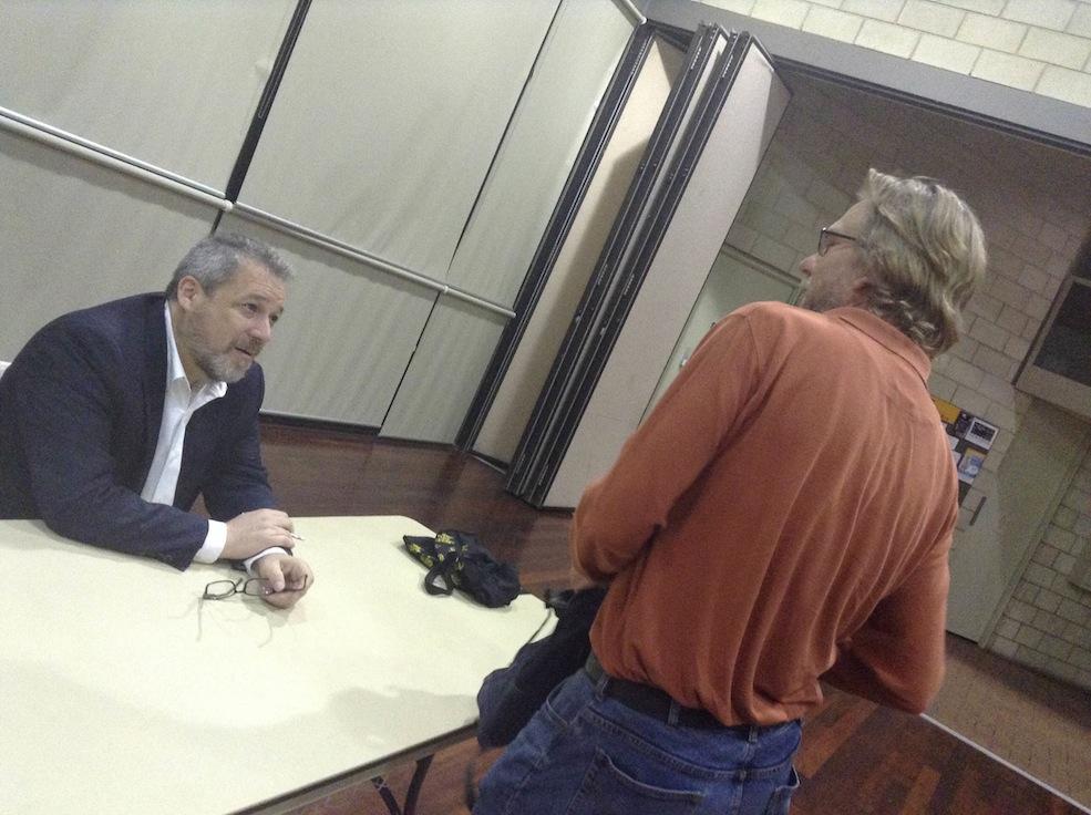 audience with Tony Ortega