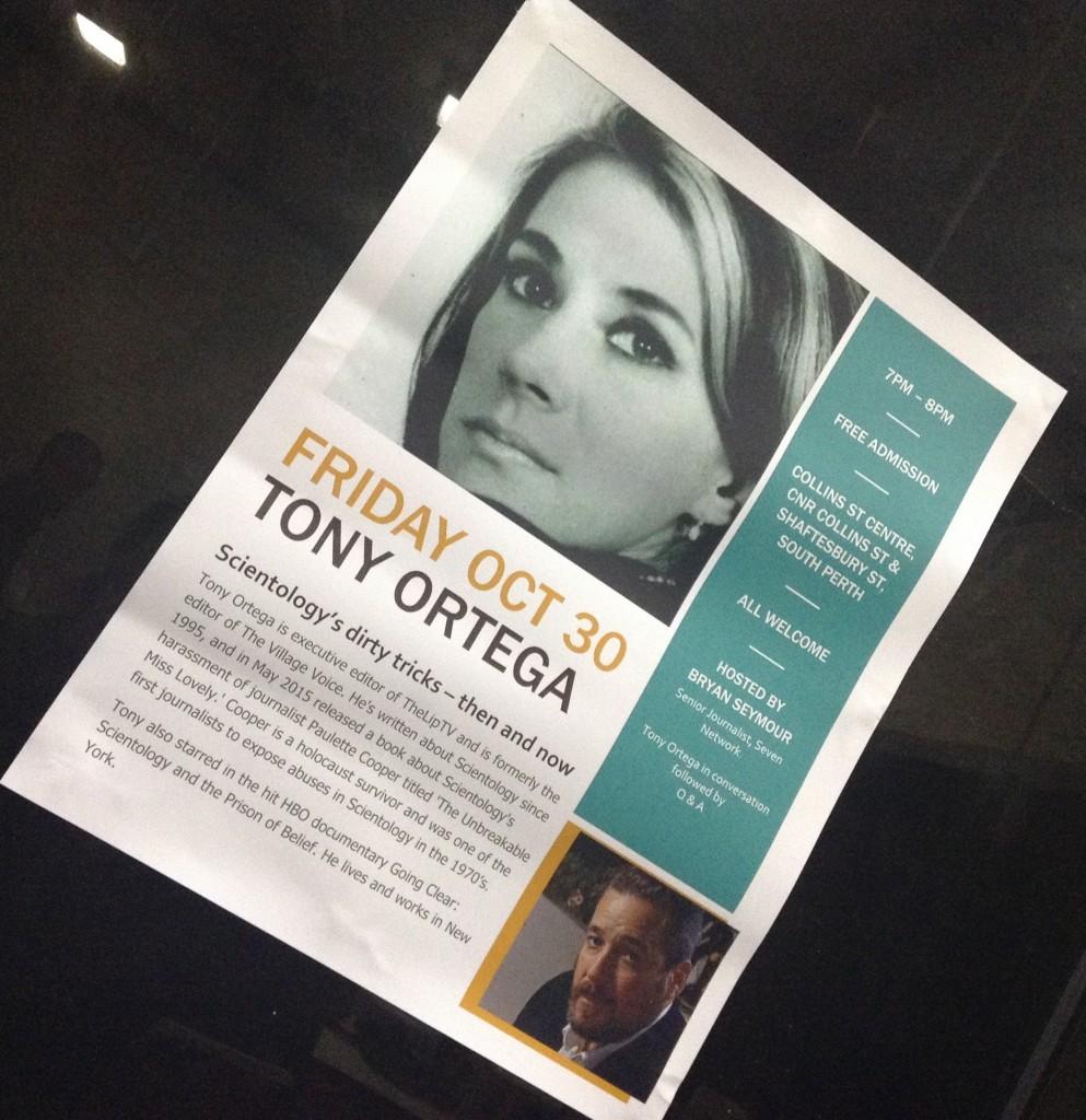 Tony Ortega Perth